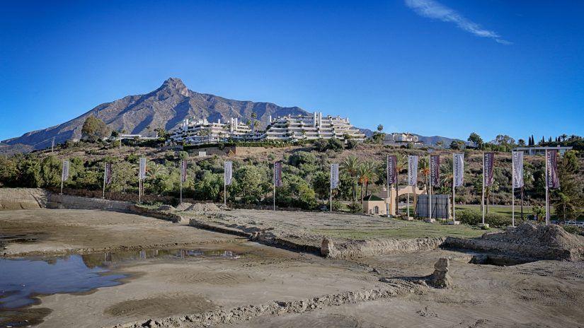 Epic Marbella villas, evolución de las obras.