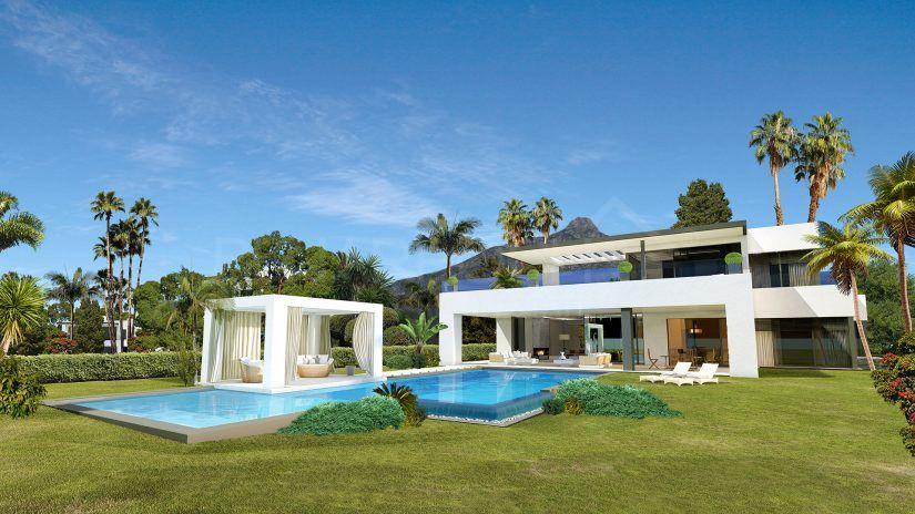 Concept: Luxury Villas on the Marbella Golden Mile