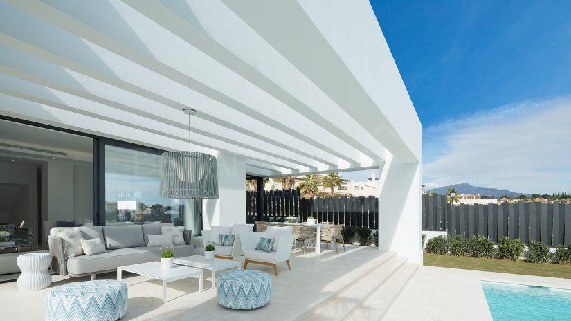 Los Olivos del Paraíso : Villas modernes, New Golden Mile, Estepona