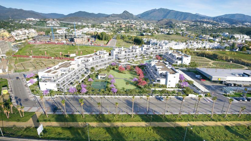 Senses Village, modern apartments on the New Golden Mile, Estepona