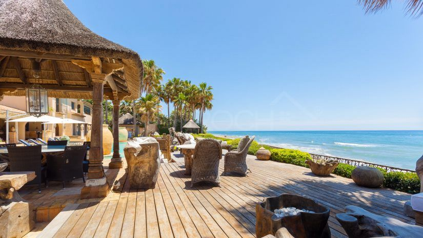 Los Monteros, sea and mountain in Marbella East