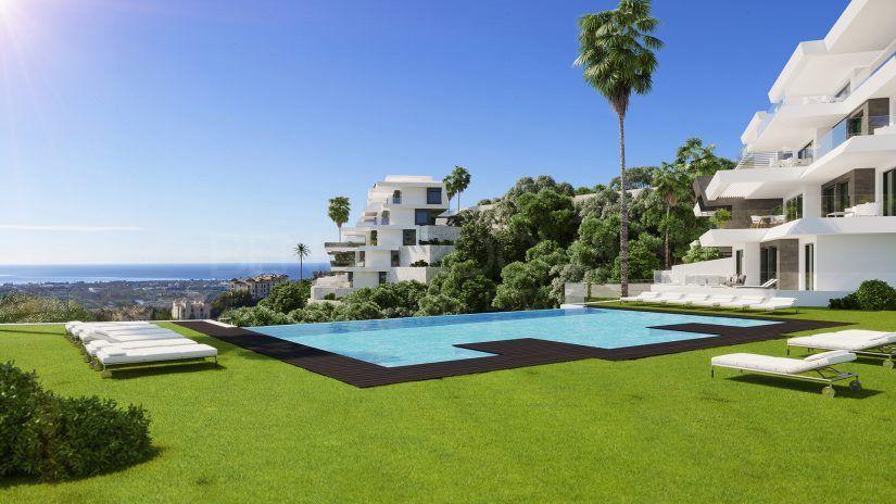 Byu Hills, appartements et penthouses modernes à Benahavis