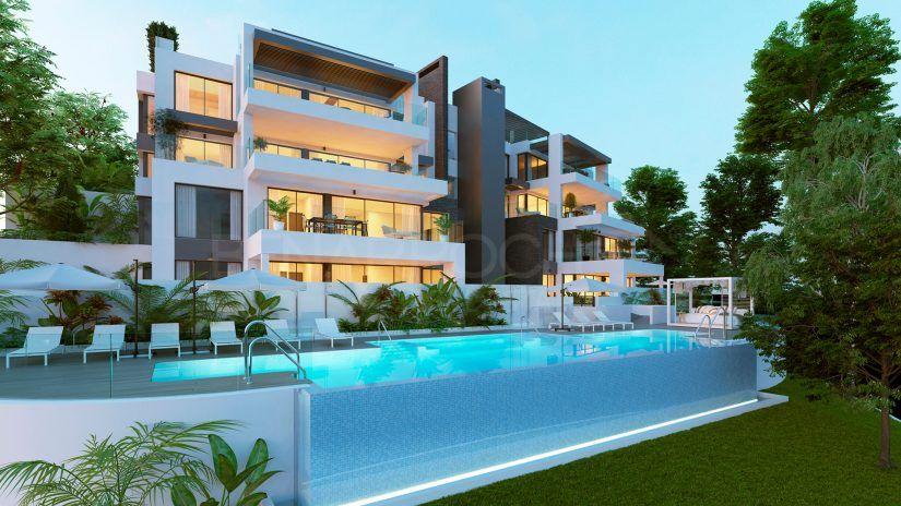 Aqualina, luxury apartments and penthouses in Benahavís