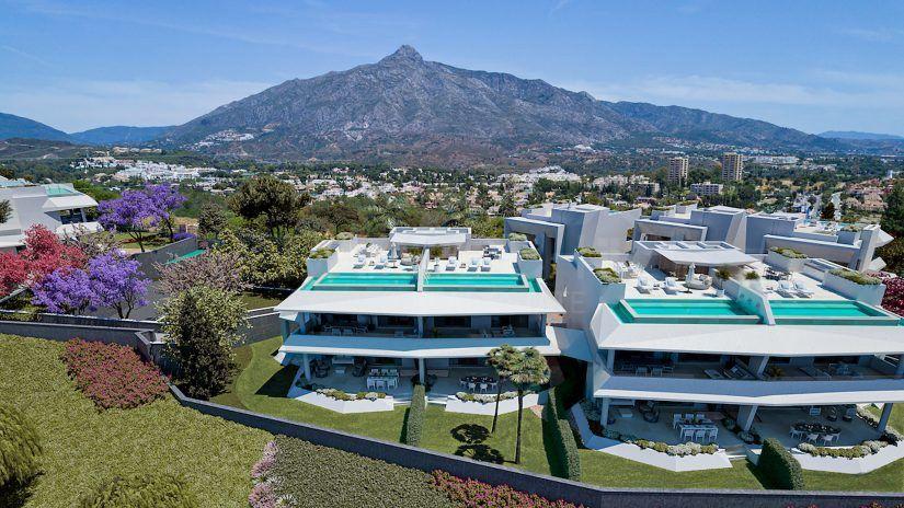 Celeste Marbella, villas et villas jumelées à Nueva Andalucía