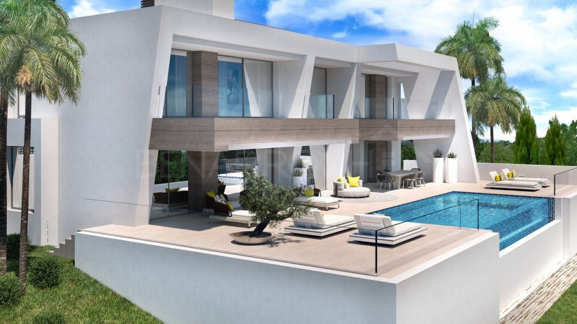 Light Blue Villas, modern luxury villas in El Paraíso, Estepona