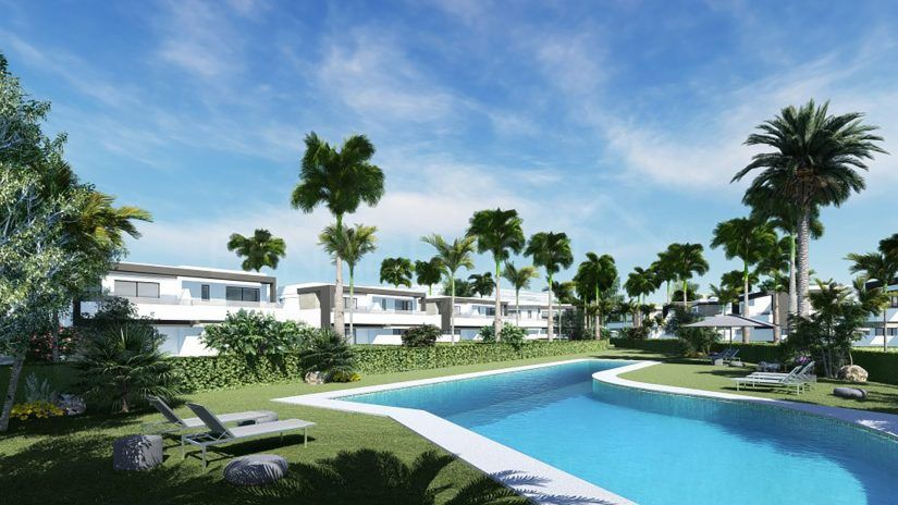 Oasis 22 moderne semi-détaché dans le New Golden Mile d'Estepona