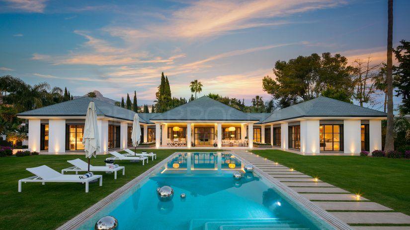 Villa en première ligne du golf de Las Brisas, Nueva Andalucía