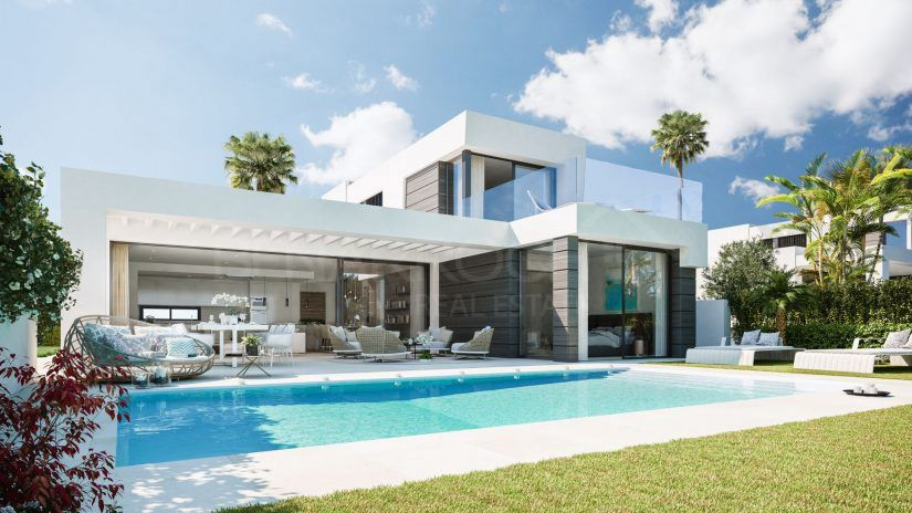 Cabo Royale, development of villas in Cabopino, Marbella East