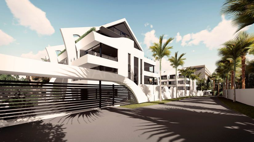 Dunes Beach, avant-garde design apartments in Marbella East