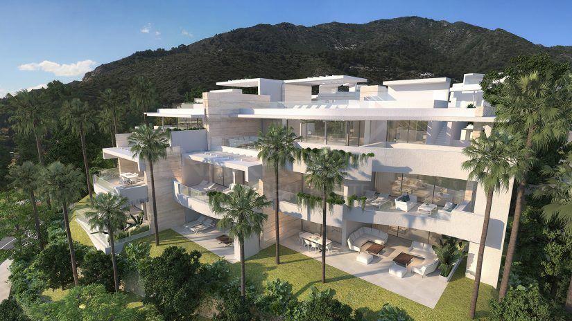 Palo Alto, luxury apartment complex near Marbella