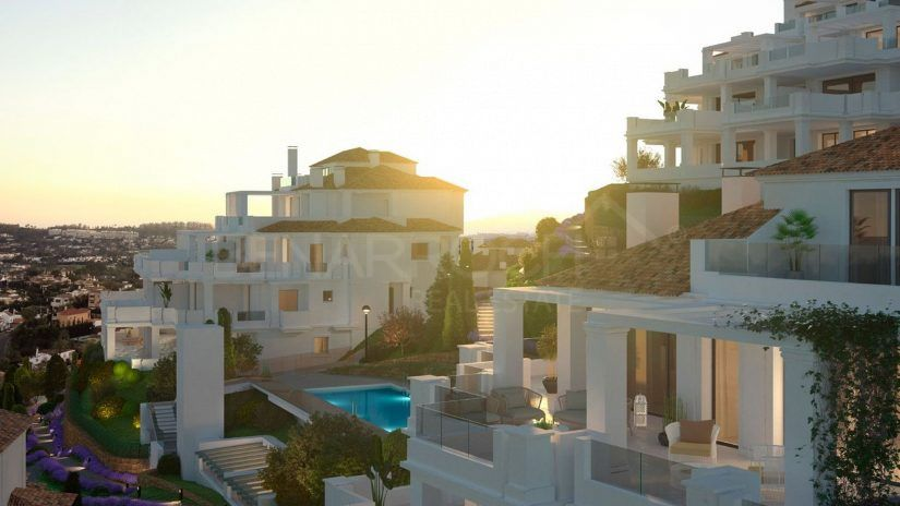 Nine Lions Residences, apartments in the hills of Nueva Andalucía