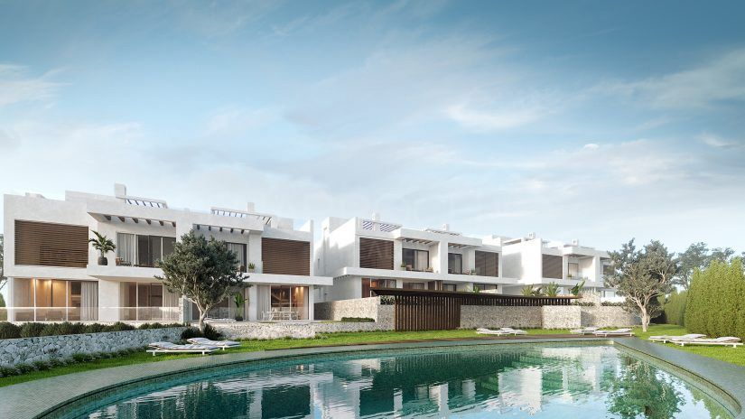 Riva Residences, luxury townhouses in Cabopino Golf, Marbella East