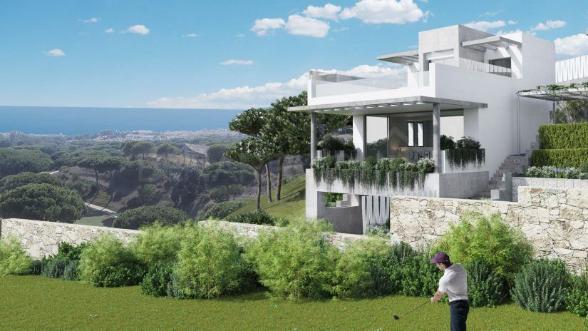 The Cape, townhouses and detached villas in Marbella East