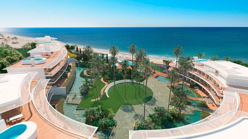 The Edge, luxury frontline beach residential in Estepona