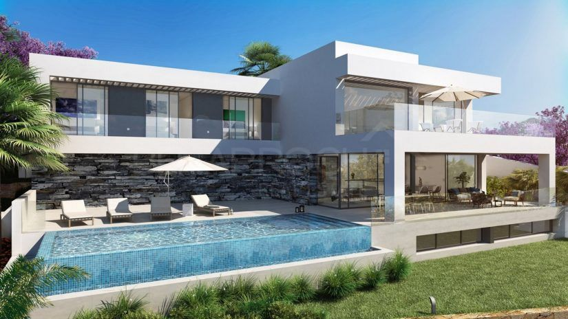 Los Flamingos Views, villas de estilo moderno en Benahavis