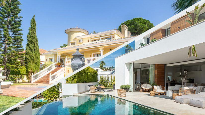 estilos casas Marbella