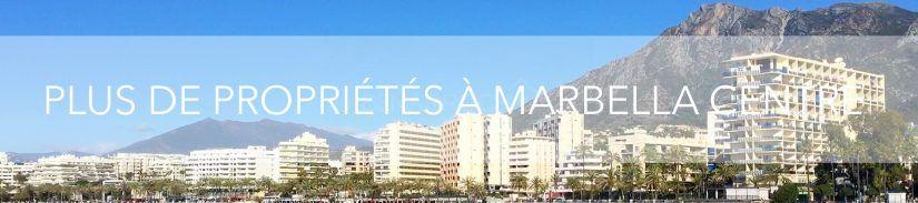 plus de propriété à marbella centre