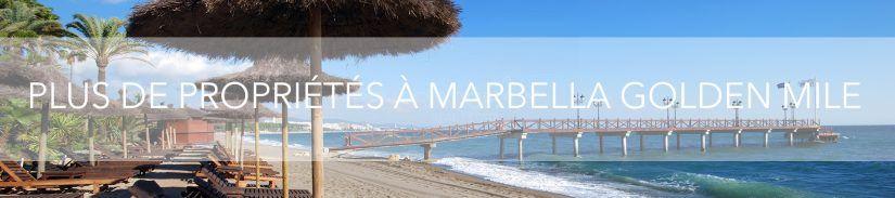 Plus de propriétés á Marbella Golden Mile