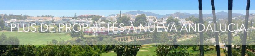 plus de propriété à nueva andalucia
