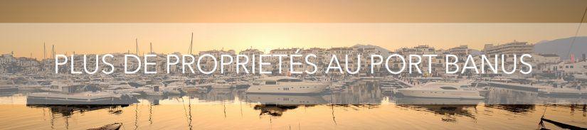 Plus de propriétés au Port Banus