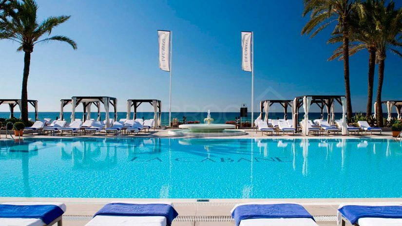 beach clubs Marbella
