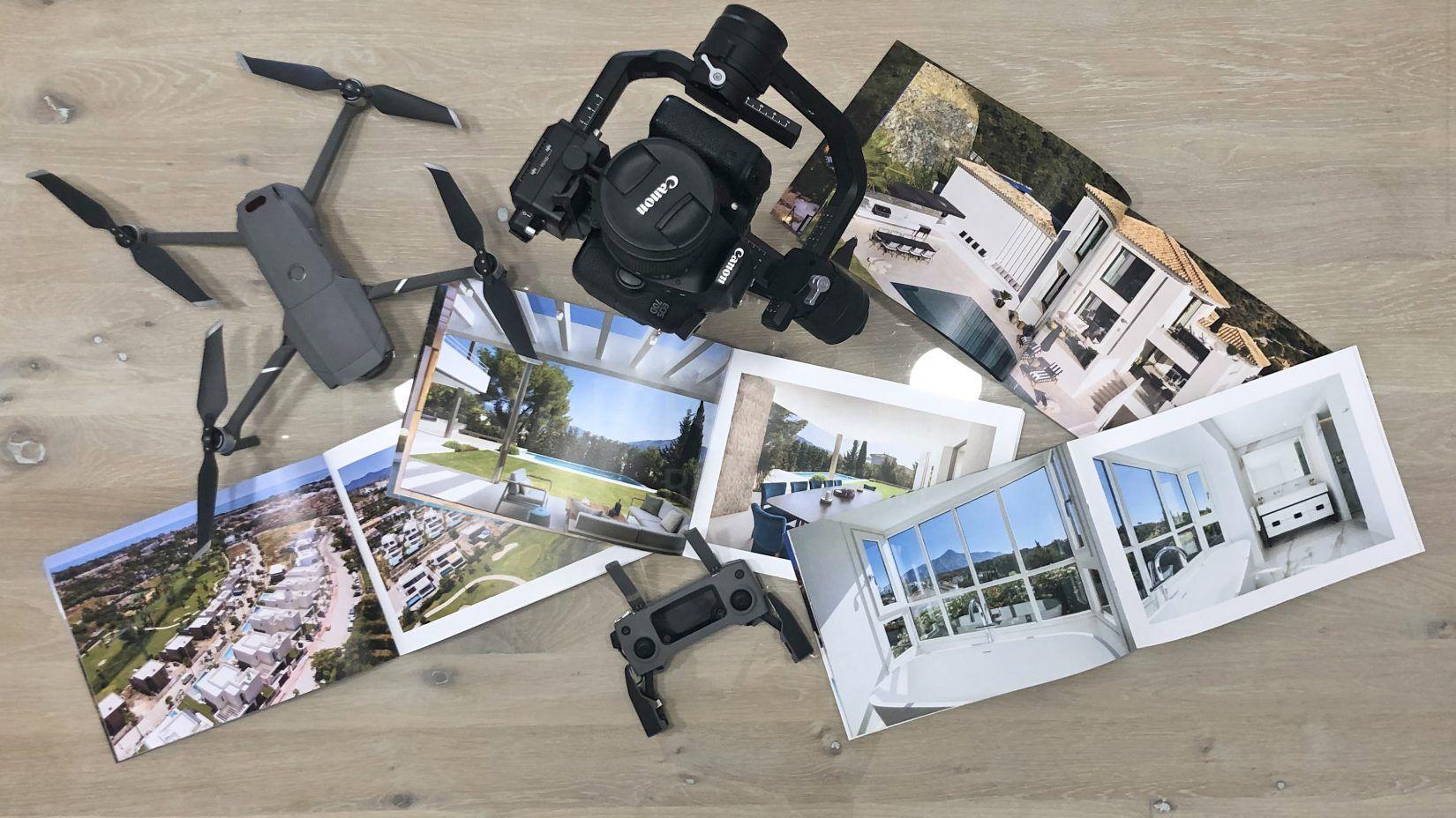 Photographie et vidéo de villas de luxe à Marbella