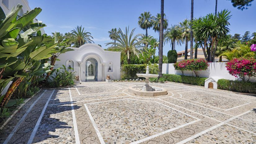 Mansion Guadalmina baja Marbella