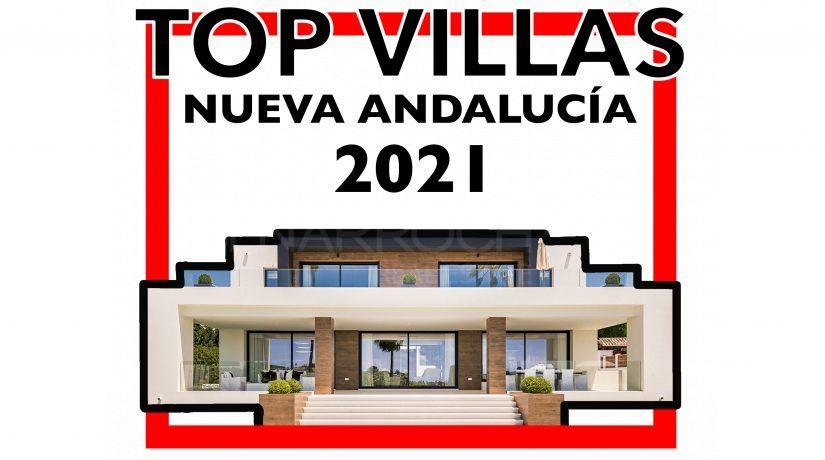TOP Villas Nueva Andalucia 2021